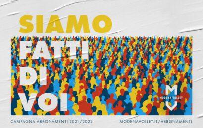 Modena Volley / Campagna abbonamenti / Oltre 1500 le tessere sottoscritte