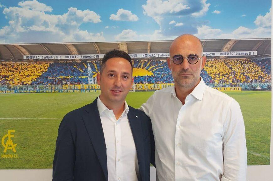 Il Modena ha un nuovo addetto agli arbitri: è Fabrizio Ernetti