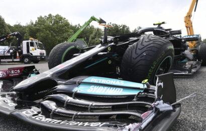 F 1 / G.P. Ungheria, vince Ocon, Sainz è quarto, Leclerc subito fuori
