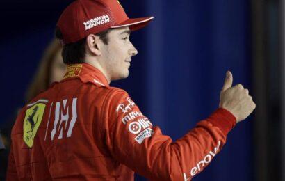 """F 1 / G.P. Ungheria / Leclerc: """"Il passo gara c'è, ma siamo indietro e dovrò partire bene"""""""