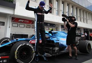 """F1 / Per Ocon è la prima volta. """"Sensazione troppo bella"""""""