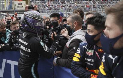"""F 1 / G.P. Sochi / Hamilton: """"Quota 100? Non pensavo di arrivarci"""""""