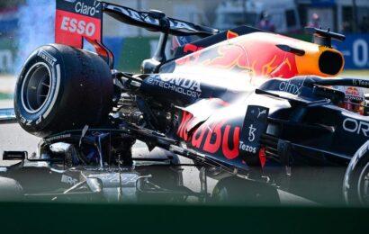 F 1 / G.P. Imola /  a Monza vince Ricciardo, choc Hamilton-Verstappen