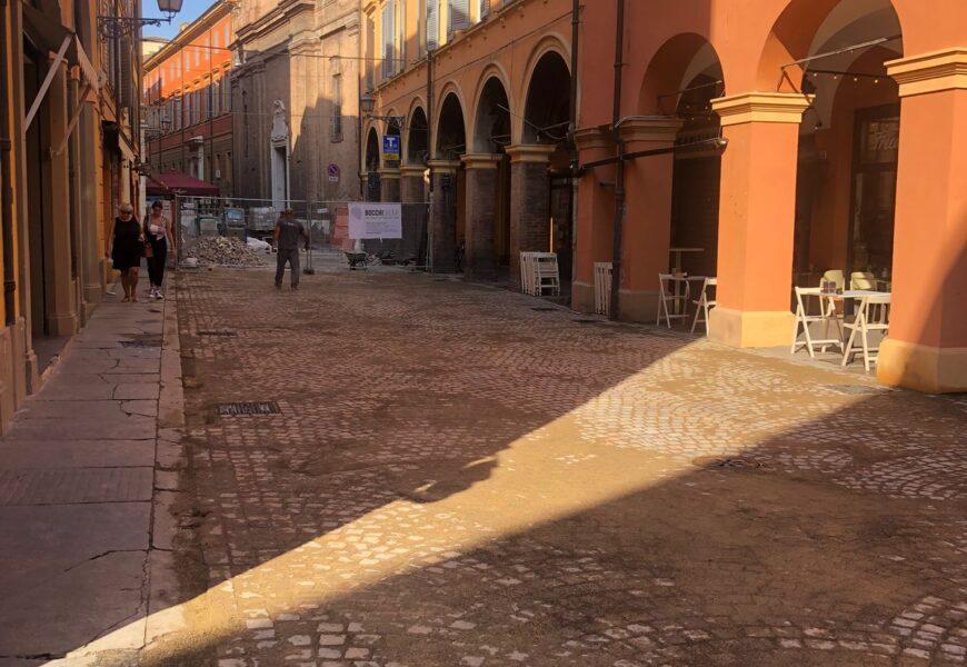Lavori stradali, riaperto un tratto di via Canalino