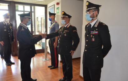 Visita del Comandante Interregionale dei Carabinieri ai Comandi Arma della provincia di Modena.