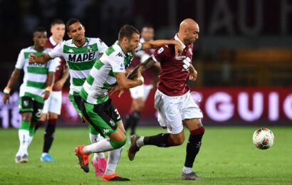 Serie A / Anticipi e posticipi / Con l'Inter il Sassuolo in campo sabato 2 ottobre alle 20,45